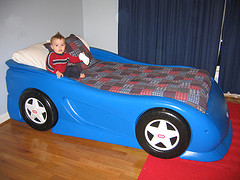 Vroom Vroom... it's a bed!