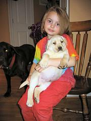 Flo & Puppy