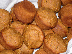 Sweet Potato Cornmeal Muffins