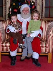 Visit with Santa 2004