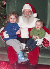 Visit with Santa 2003
