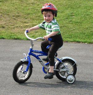 Joe on a Bike